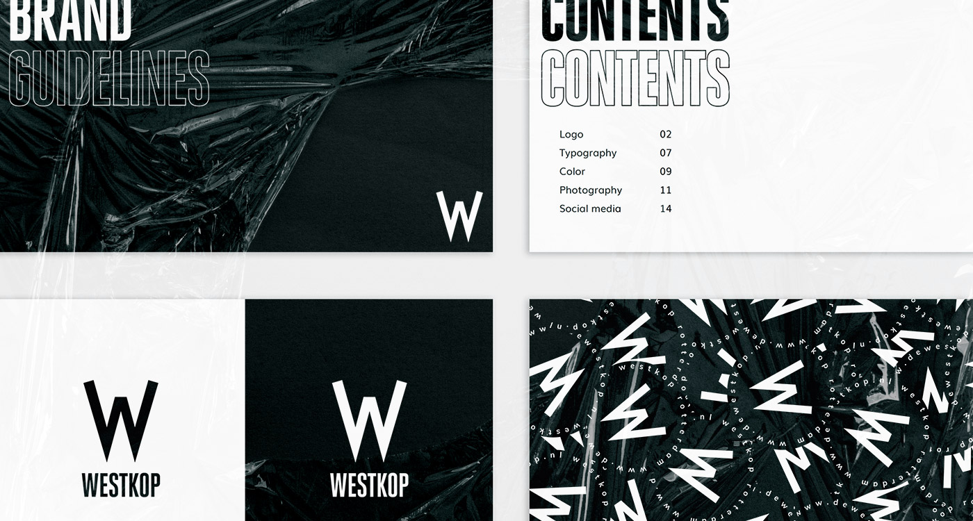 westkop rotterdam branding guidelines